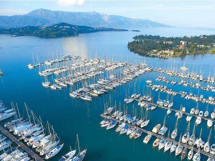Gouvia marina Corfu, Greece. http://www.rooms-2-let.com