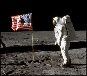 neil armstrong first man on the moon...1969 - I still remember sitting in front of the TV watching this...