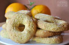 Roscos de naranja para el desayuno - http://www.thermorecetas.com/roscos-naranja-desayuno/
