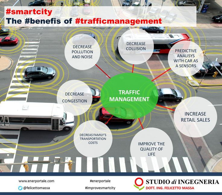 #SmartCity - The #benefits of #trafficmanagement