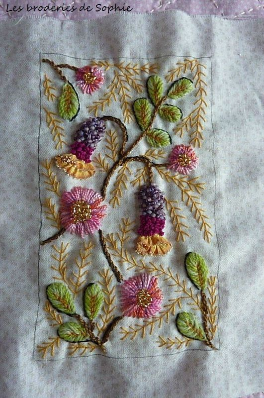 Embroidery by Sophie