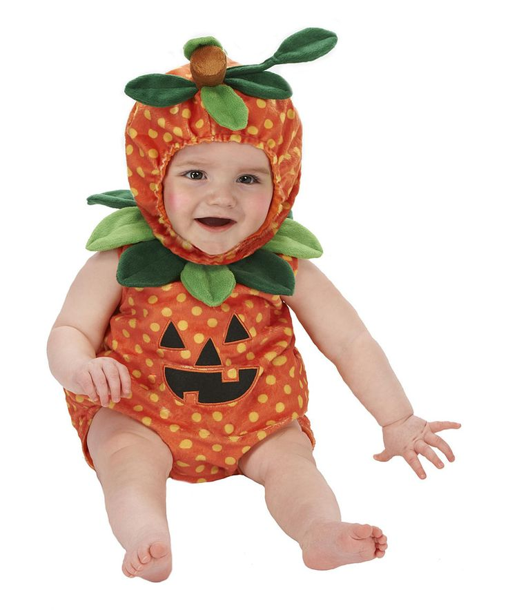 orange green pumpkin dress up set infant - Strawberry Halloween Costume Baby