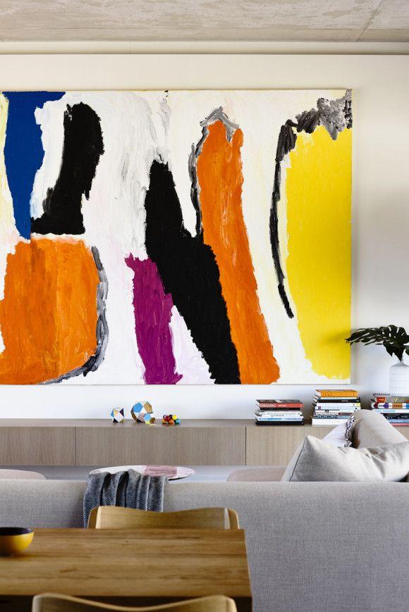 Rob Kennon Architects   In-situ House Sally Gabori art