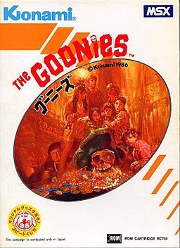 MSX The Goonies cover