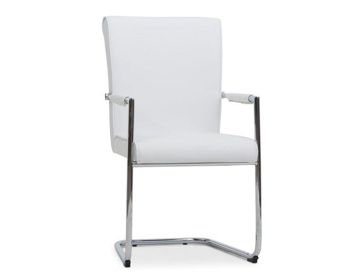 ADAM - Dining chair - White