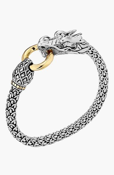 John Hardy 'Naga' Dragon Bracelet available at #Nordstrom                                                                                                                                                      More   Supernatural Style