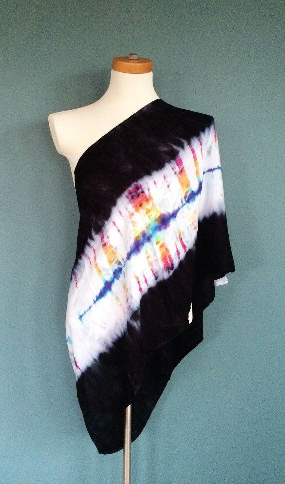 Tie Dye Infinity Scarf Winter Scarf Nursing Cover by 2dye4designs