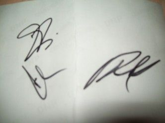 Sobiraloff.ru / Автографы / автографы Tokio Hotel