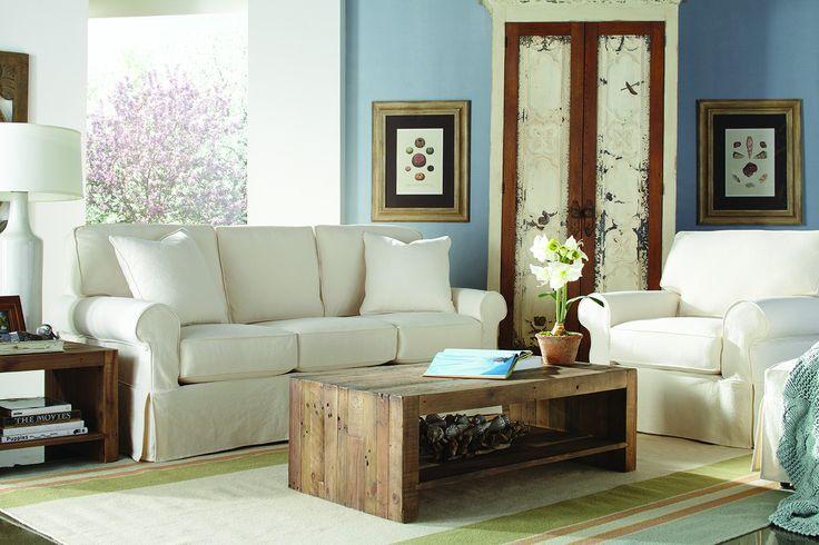 Nantucket Transitional Sleeper Sofa by Rowe