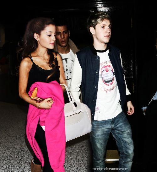 Ariana Grande and Niall Horan
