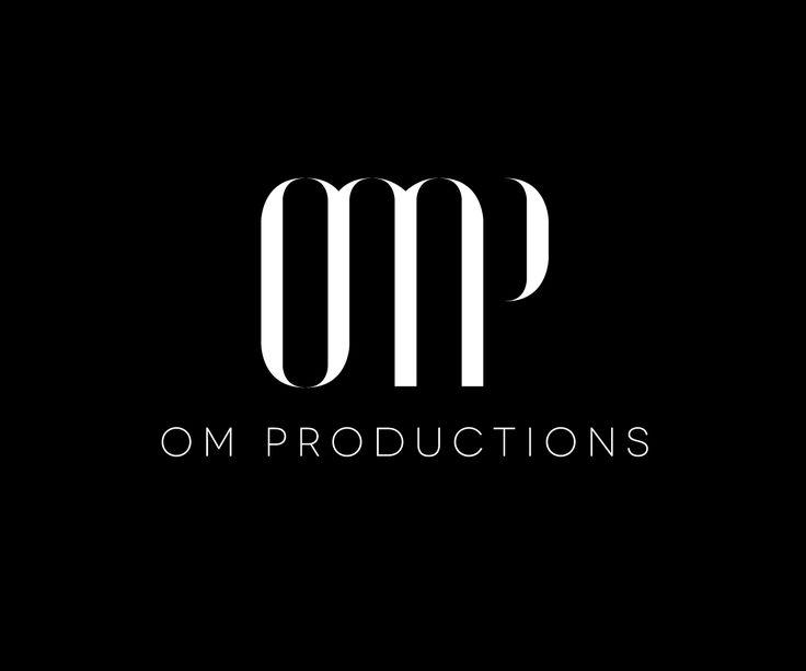 Logo Design by Ven Talon for OM Productions #monogram #logo #design #DesignCrowd