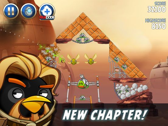 Angry Birds Star Wars Ii On The App Store Angry Birds Star Wars