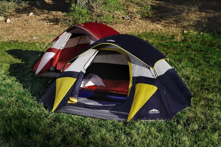 2-3 MAN TENT PERSON 9X7 DOME CAMPING OUTDOOR BACKPACKING SLEEPS FISHING HIKING #NorthwestTerritory