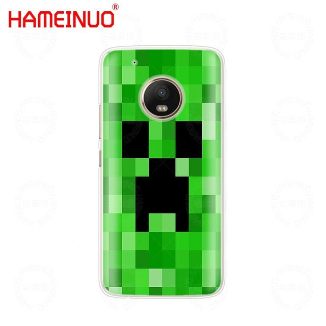 HAMEINUO Creeper minecraft case phone cover For Motorola Moto X4 E4
