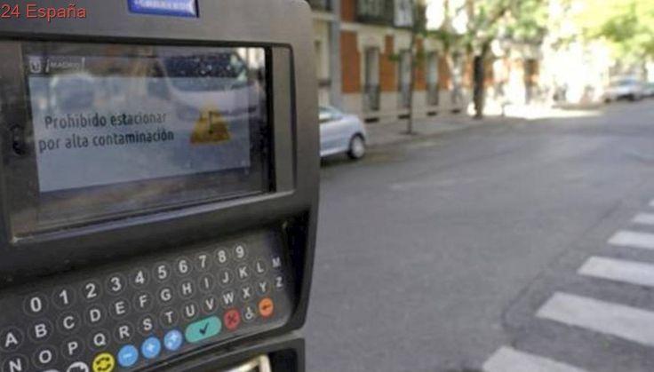 Madrid mantendrá el miércoles la prohibición de aparcar en zona SER por alta contaminación