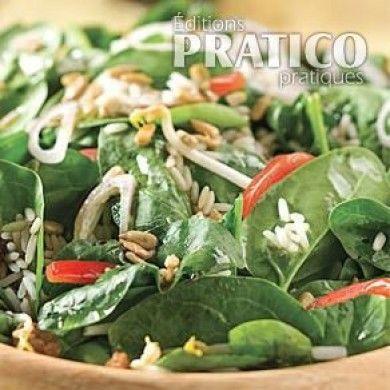 Salade d'épinards des Ménard - Recettes - Cuisine et nutrition - Pratico Pratique