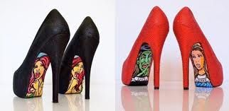 Quirky-soled shoes:)