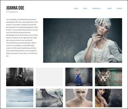 Die besten WordPress-Themes für Fotografen