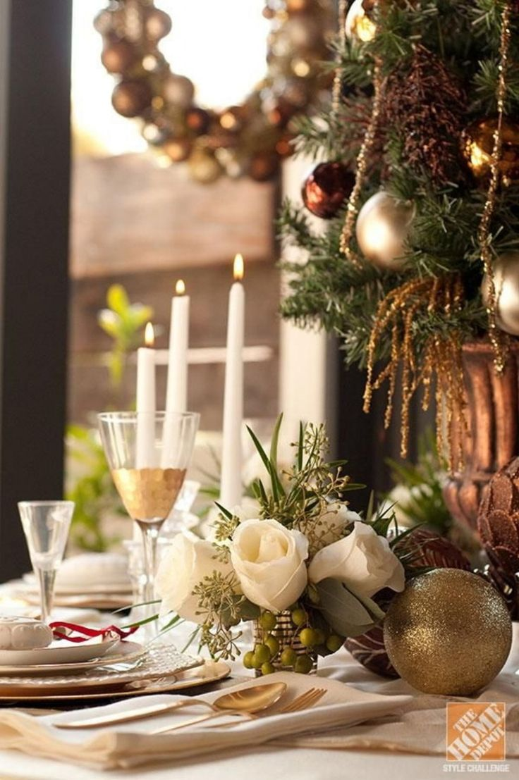 christmas centerpieces for dining room tables. 50 Stunning Christmas Tablescapes. Table DecorationsChristmas Centerpieces For Dining Room Tables