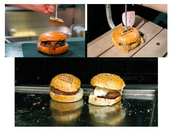 """Le Burger """"A voté"""" de Foodora #hamburger #gastronomie"""