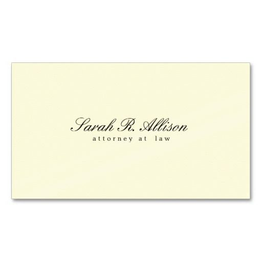 The 334 best lawyer business card templates images on pinterest elegant minimalist attorney cream coloured business card template fbccfo Gallery