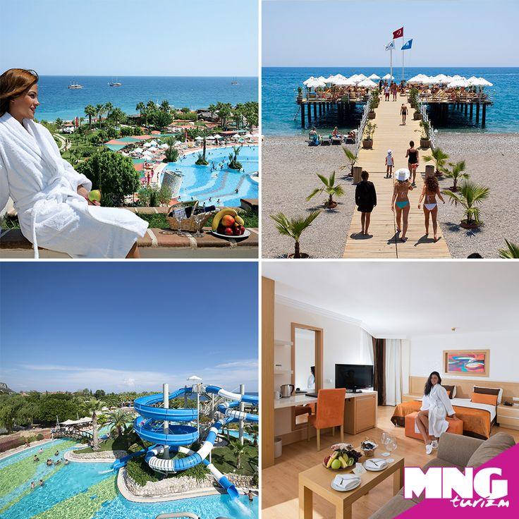 Kemer sahilinde, portakal ağaçlarının arasında ailece tatilse istediğin Limak Limra Hotel tam sana göre. bit.ly/MNGTurizm-limak-limra-hotel-s