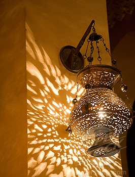 Egyptian lantern..I got one of these for Christmas...love it!!