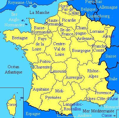 Explorons les régions de la France ! Le français au lycée Mount Vernon - Catherine Ousselin