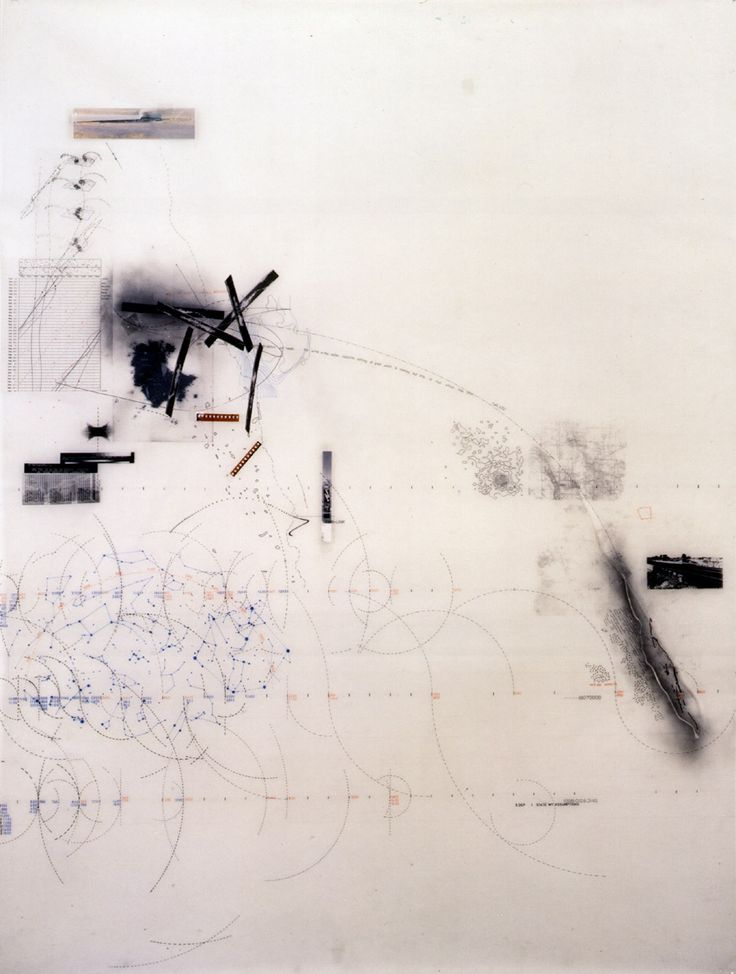 """""""Site Analysis"""". Representation. Ink on mylar. [Drawings]"""