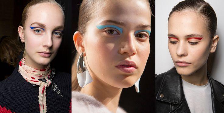 Makeup trends FW17 – Telegraph