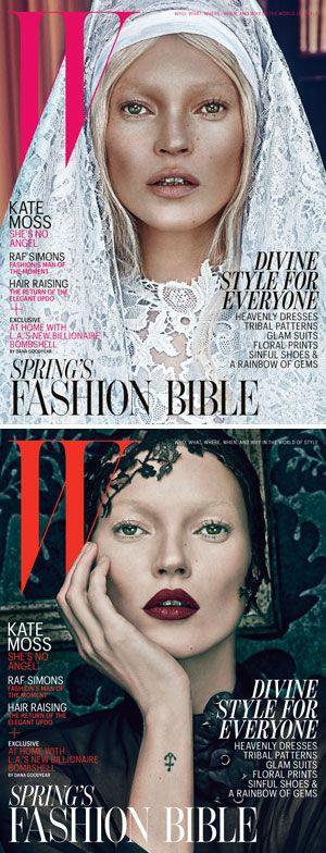km: Magazines Models, Covers Models, Shoots Angel, W Magazines, Wmagazin Com, Magazines Covers, Kate Moss, Flower, Bad Kate
