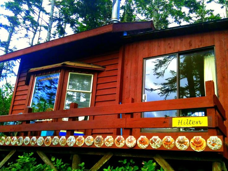 Check out this awesome listing on Airbnb: Hilten timberframe cabin - Cottages for Rent in Masset
