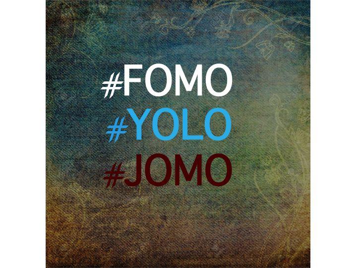 #FOMO #YOLO #JOMO http://fielfalt.de/yolo-und-die-kunst-fomo-in-jomo-zu-wandeln/
