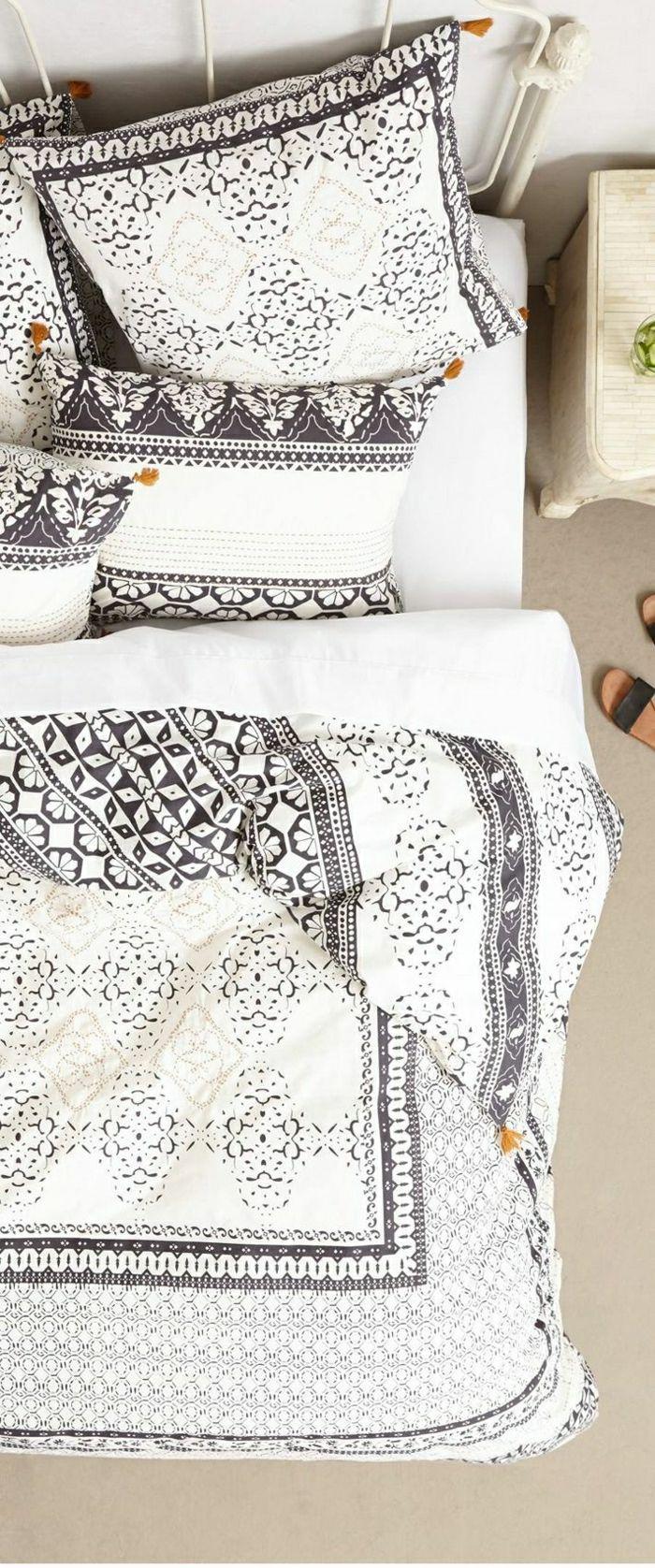 Boho-Chic Design der Bettwäsche