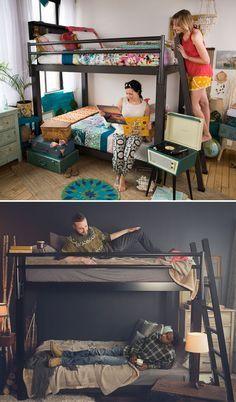 1000 Ideas About Adult Bunk Beds On Pinterest Modern