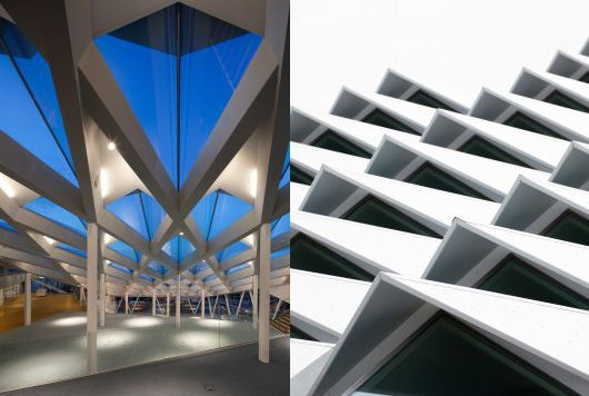 modern triangle building - Google Search