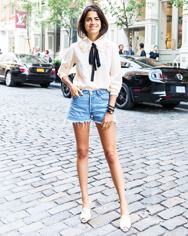 Denim Cutoffs Can Be Dangerous, but Here's How to Look Chic in Them via @WhoWhatWearUK
