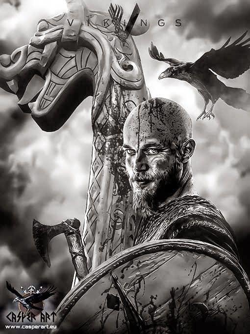 The Viking Post: Vikings series Ragnar