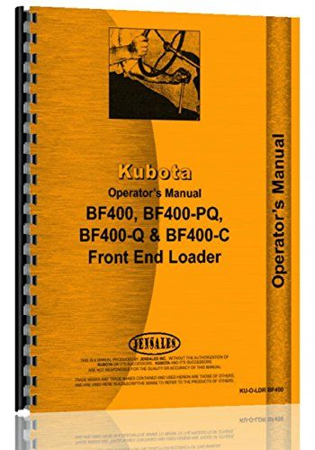 Introducing Kubota Kubota L275DT Operators Manual. Get Your Car Parts Here and follow us for more updates!