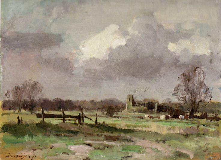 A ruined church near Kings Lynn, Norfolk
