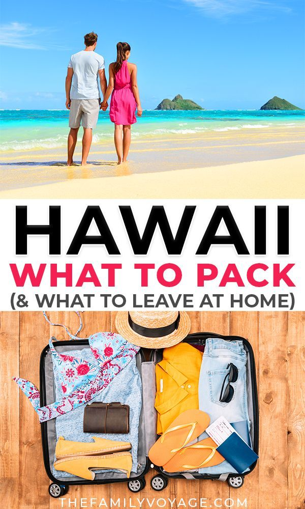 The Minimalist Hawaii Packing List For Female Travelers