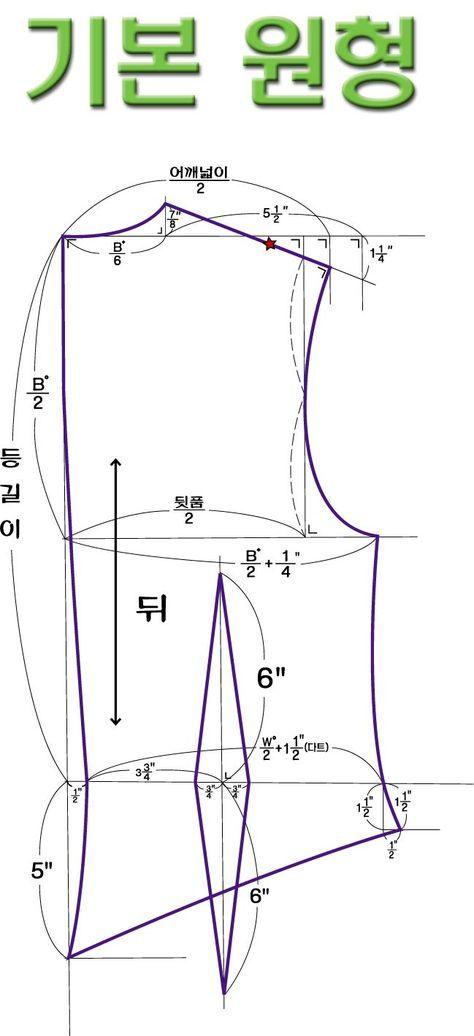 Basic top, a cape pattern  http://blog.naver.com/PostThumbnailView.nhn?blogId=snake0305logNo=10100325081categoryNo=20parentCategoryNo=