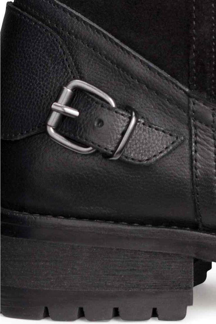 Botas de piel forradas | H&M.- Abrigadas para el invierno!!