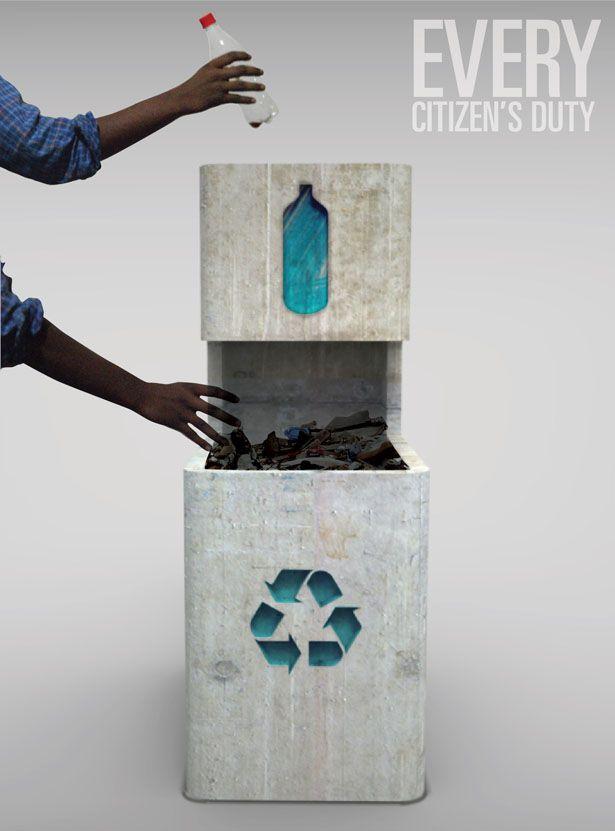 Toknee Garbage Bin by Yash Mevada