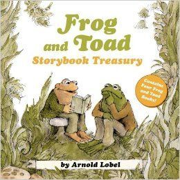 """""""Frog and Toad Storybook Treasury"""", by Arnold Lobel -  Share the adventures of best friends Frog and Toad as they fly a kite, resist the temptation of cookies, and search for a lost button. No matter what kind of situation they find themselves in, one thing is certain: Frog and Toad will always be together. To know them is to love them."""