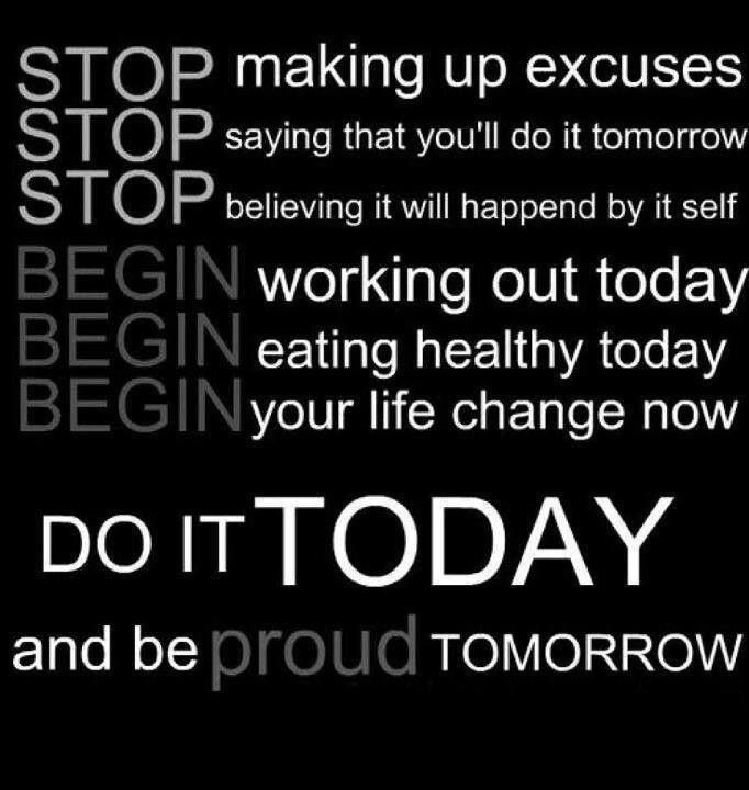 Famous Quotes About Excuses: No Excuses, Just Your Best! People, Real Results, Real
