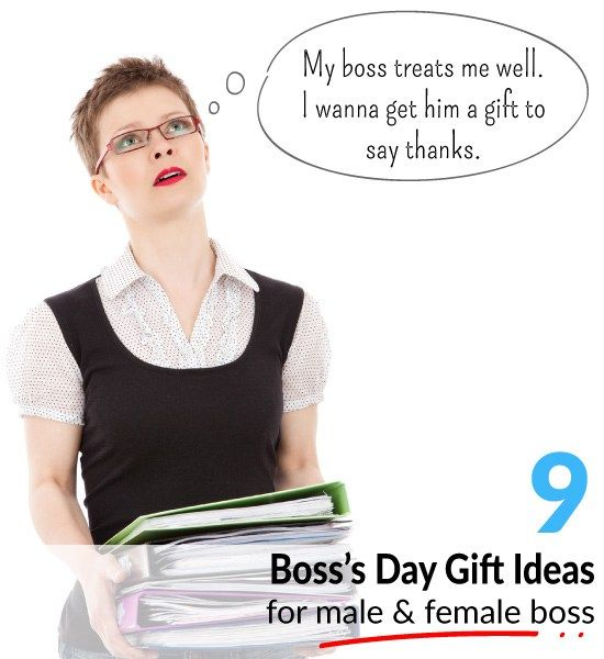 Boss Day 9 Gift Ideas for Your Boss | Ideas, Gifts for ...