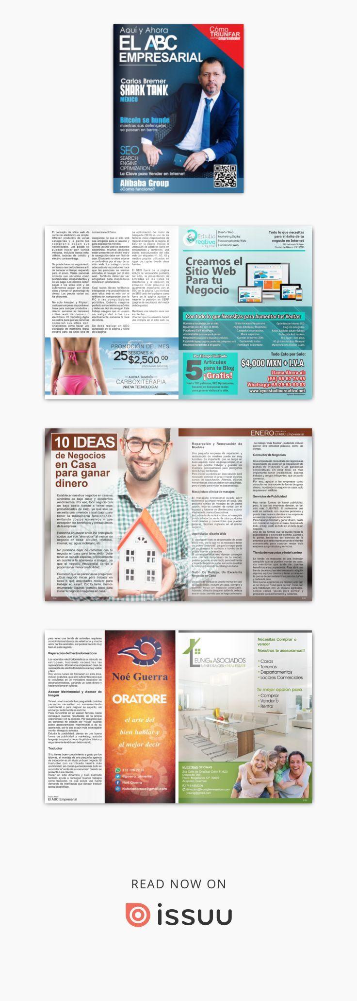 Revista El ABC Empresarial - enero  Revista Digital de Negocios y Análisis