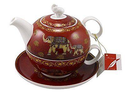 TeaLogic Tea For One Set Nelson Fine Bone China Porzellan Tea4One