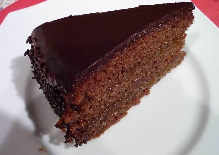 Tarta fácil de chocolate en el microondas